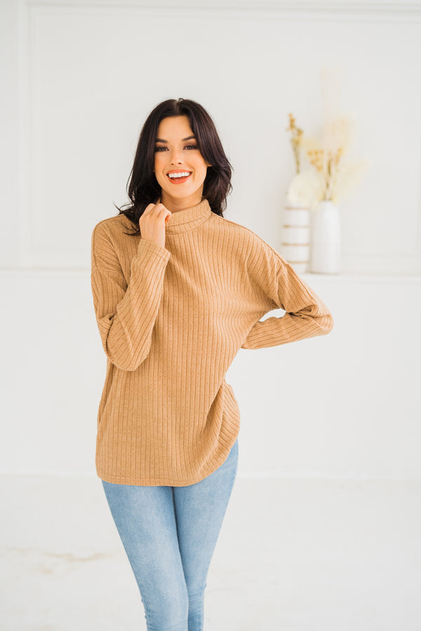 Audrey Ribbed Sweater