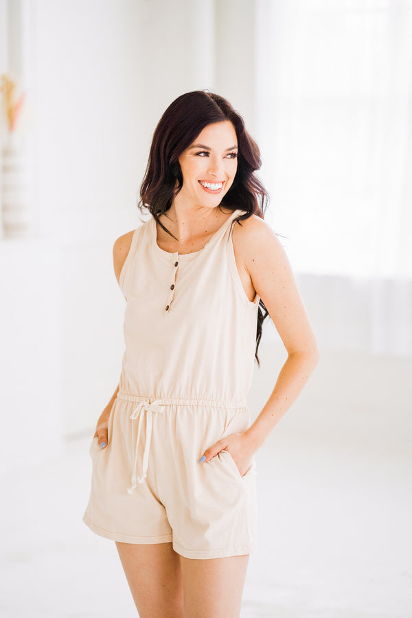 Everyday Cream Romper