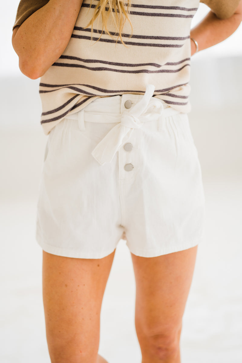 Betty White Denim Shorts