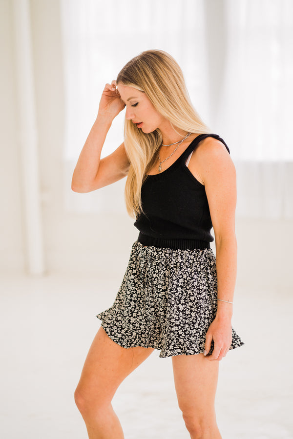 Molly Ruffle Shorts