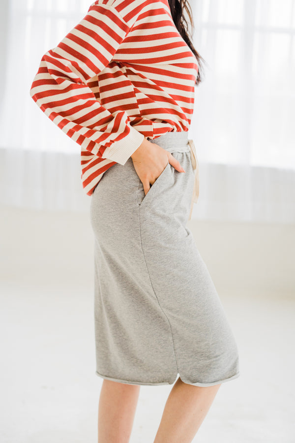 Tatum Jersey Knit Skirt