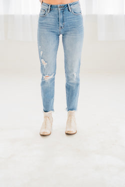 Hidden Zoey Mom Fit Stretch Denim