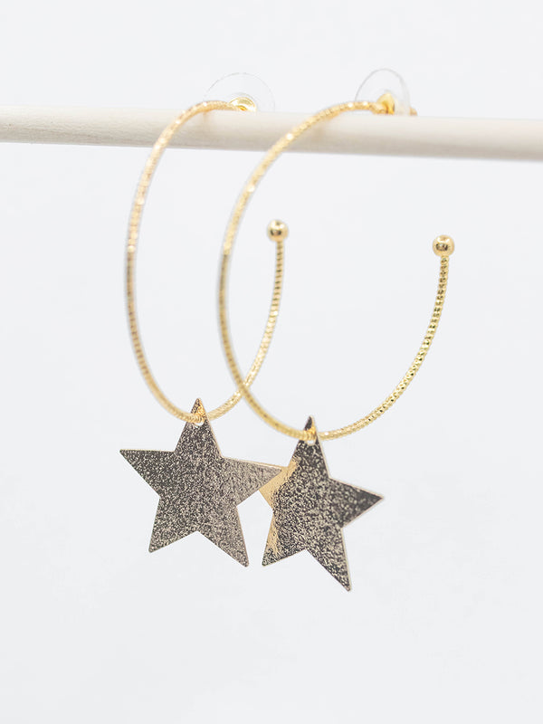 Star Spangled Earring