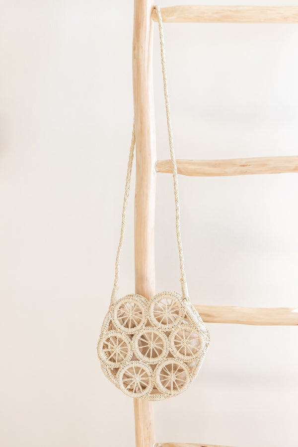Ophelia Wicker Purse