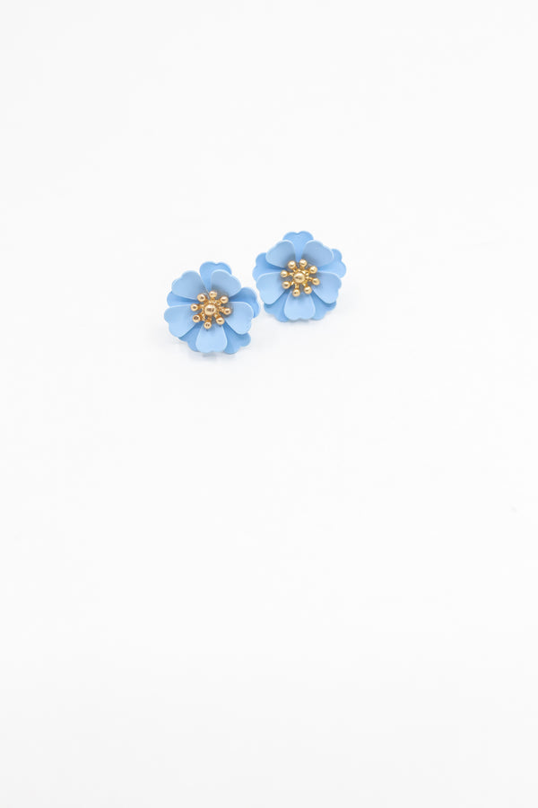 Periwinkle Mini Floral Earring