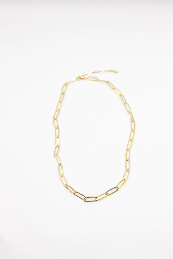 Hera Mini Chain Link Necklace