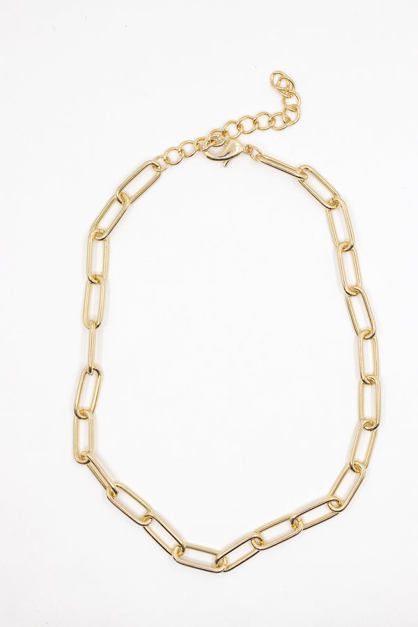 Hera Chain Link Necklace