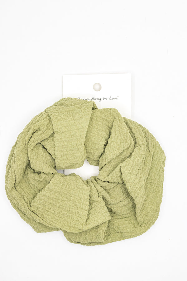 Super Scrunchie Green