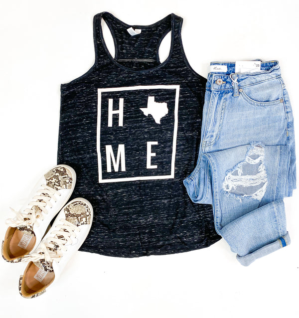 HOME Black Marble Texas Tank