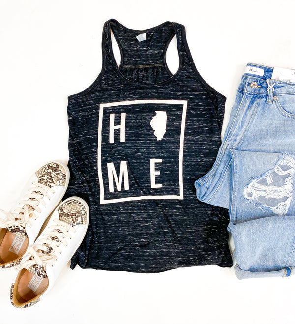 HOME Black Marble Illinois Tank