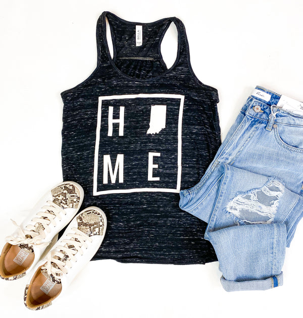 HOME Indiana Black Marble Tank