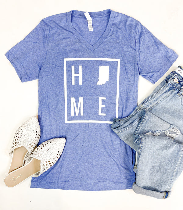 HOME Light Blue Indiana Tee