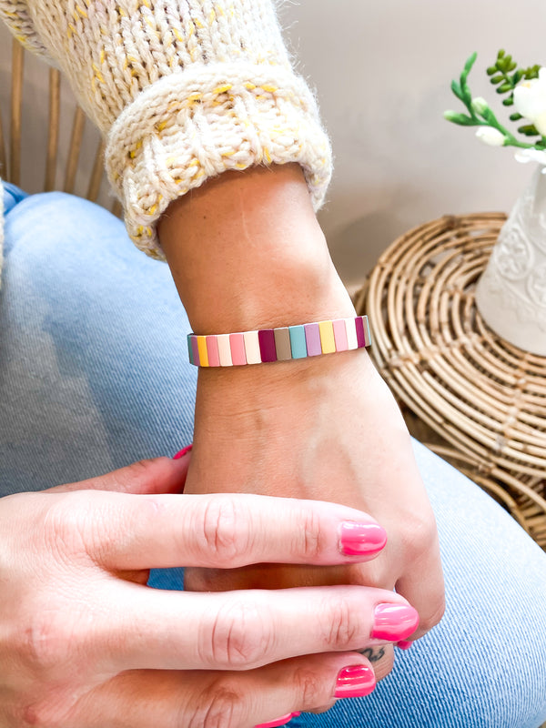 Multi Colored Stretch Bracelets