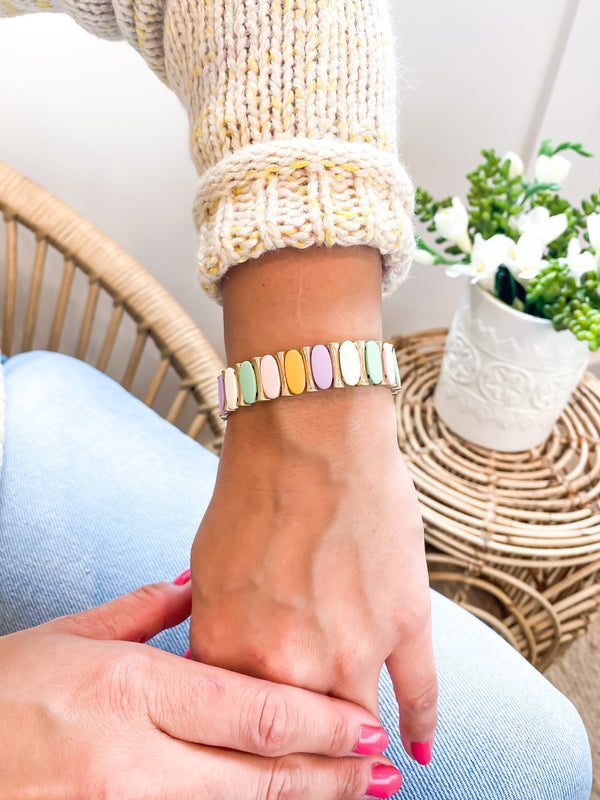 Pastel Stackable Bracelets