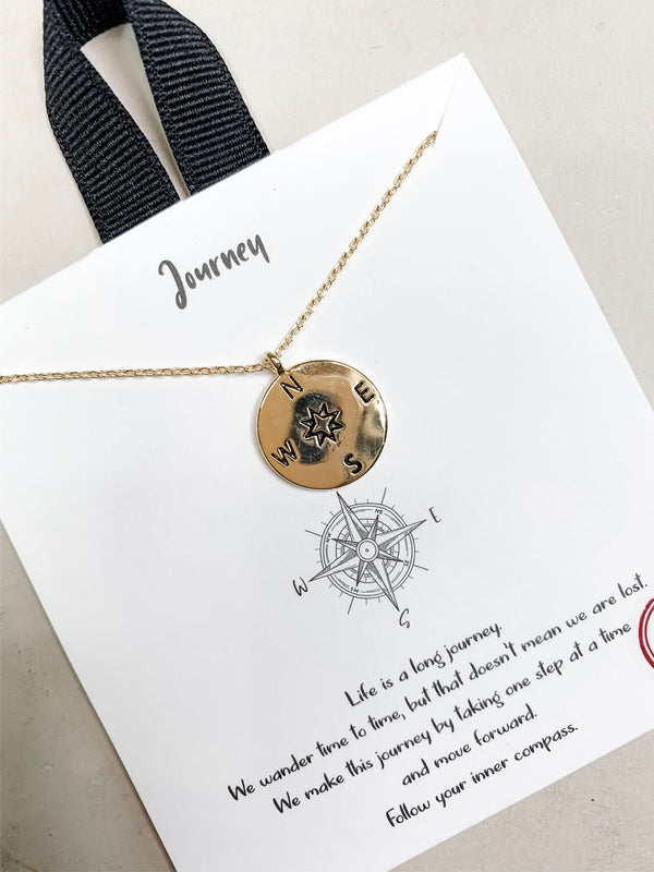 Journey Gold Dipped Necklace
