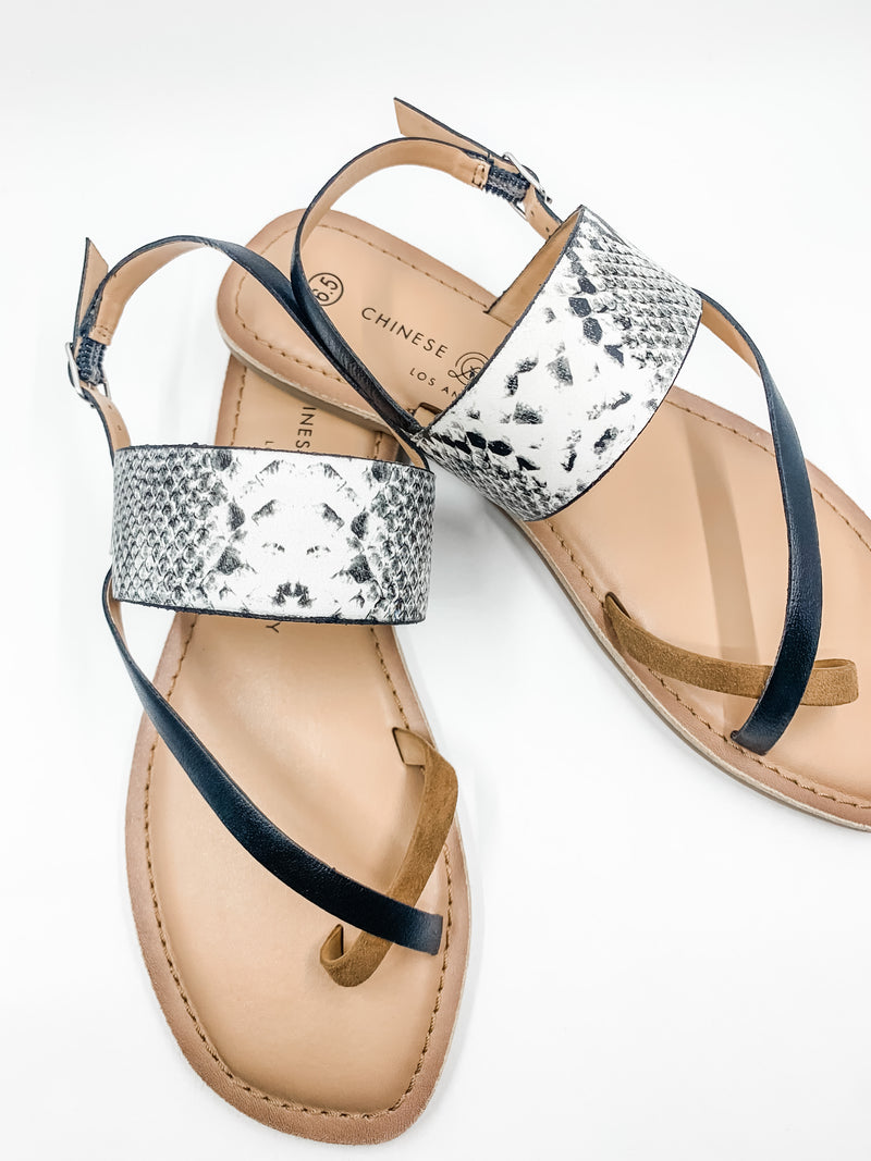 Reeba Leather Strappy Sandal