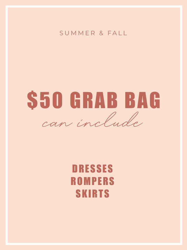 $50 Grab Bag WITH dresses, skirts or rompers