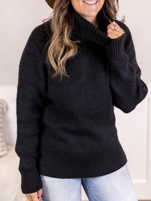 Cozy Ribbed Turtleneck Sweater