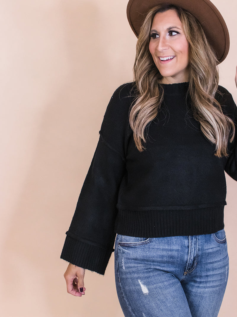 Lincoln Wide Arm Sweater