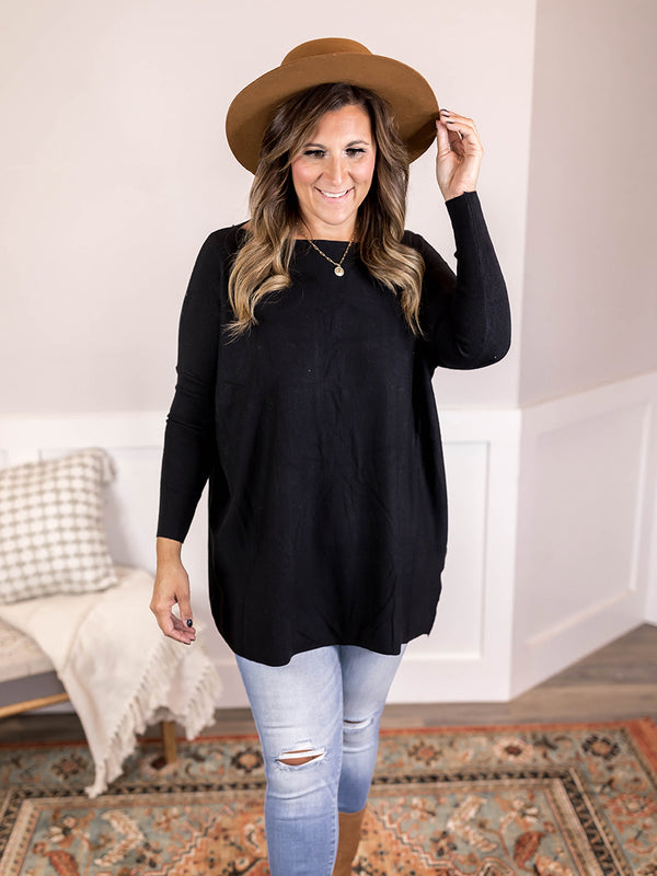 Work from Home Oversize Tunic