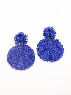 Rianne Beaded Drop Earrings