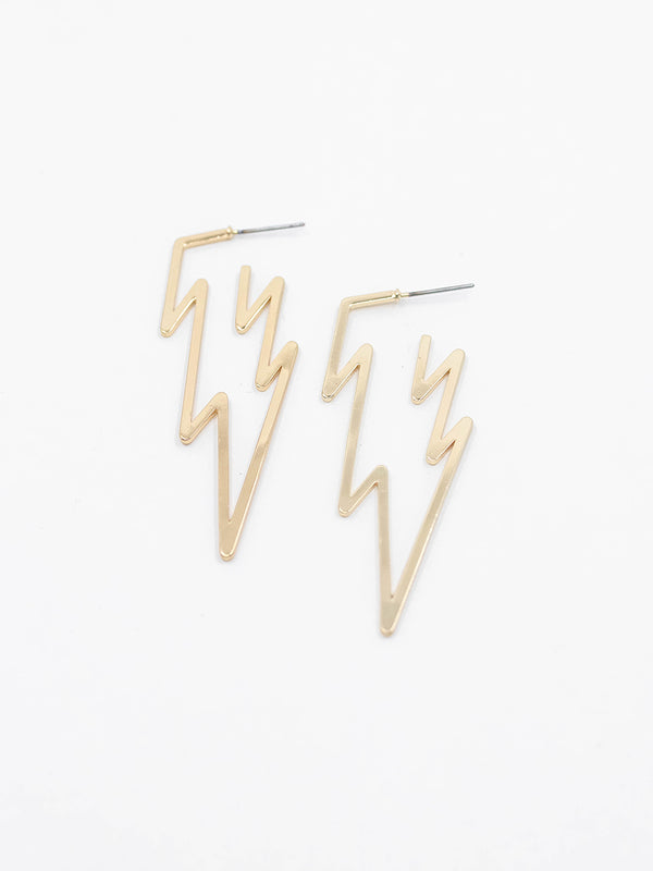 Lightening Bolt Earring