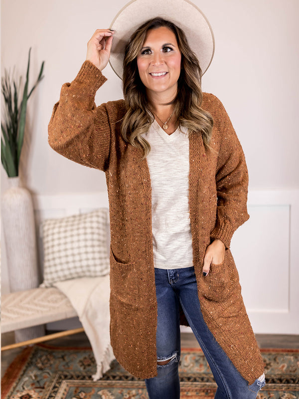 Kayla Speckled Cardigan