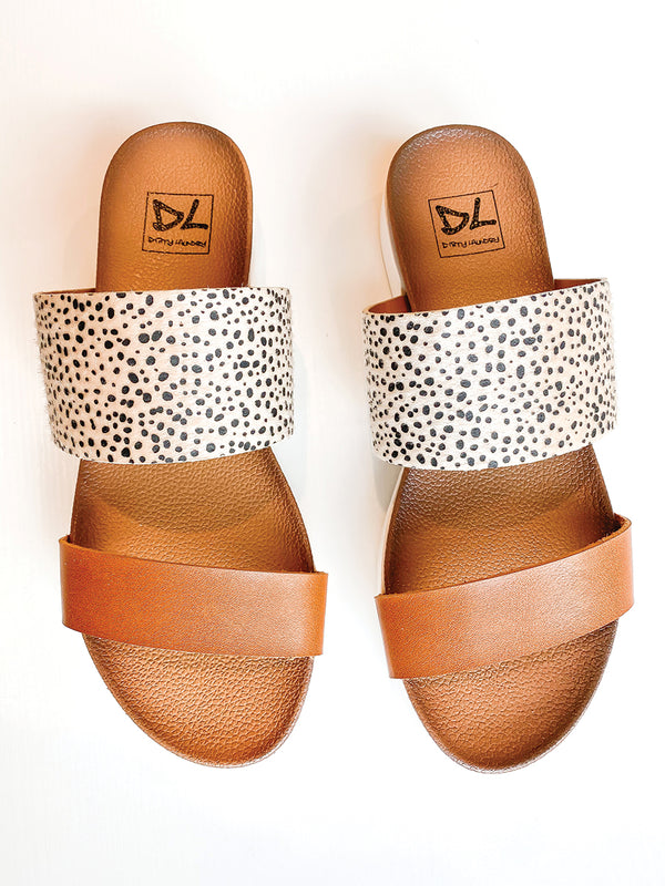 Coastline Cheetah Sandals