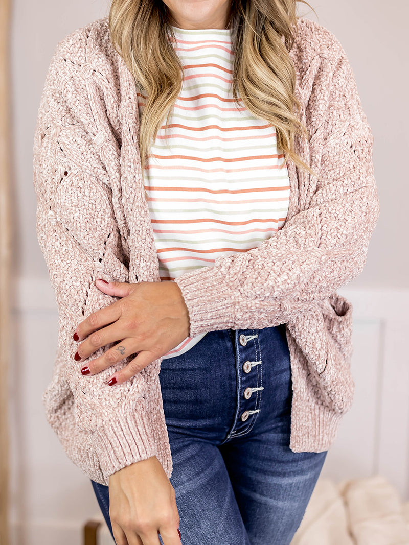 The Daily Chenille Cardigan