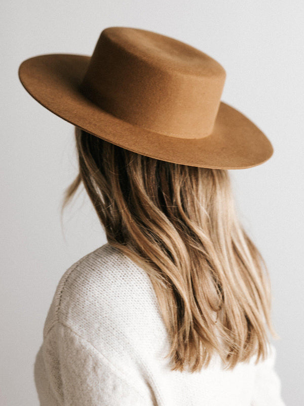 Gigi Pip Dahlia Brown - Women's Hat