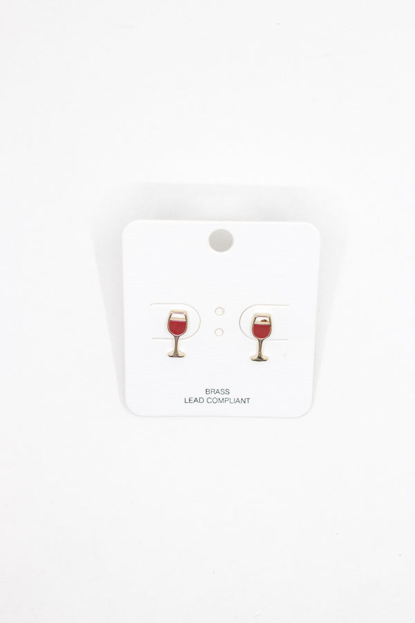 Wine Me Up Earrings