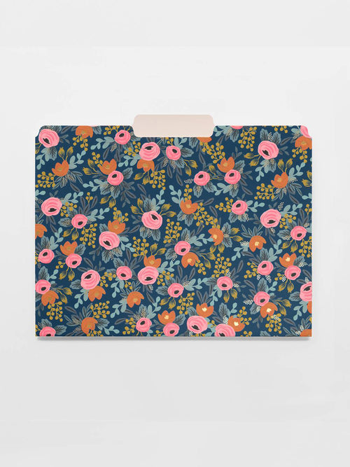 Rosa Assorted File Folders
