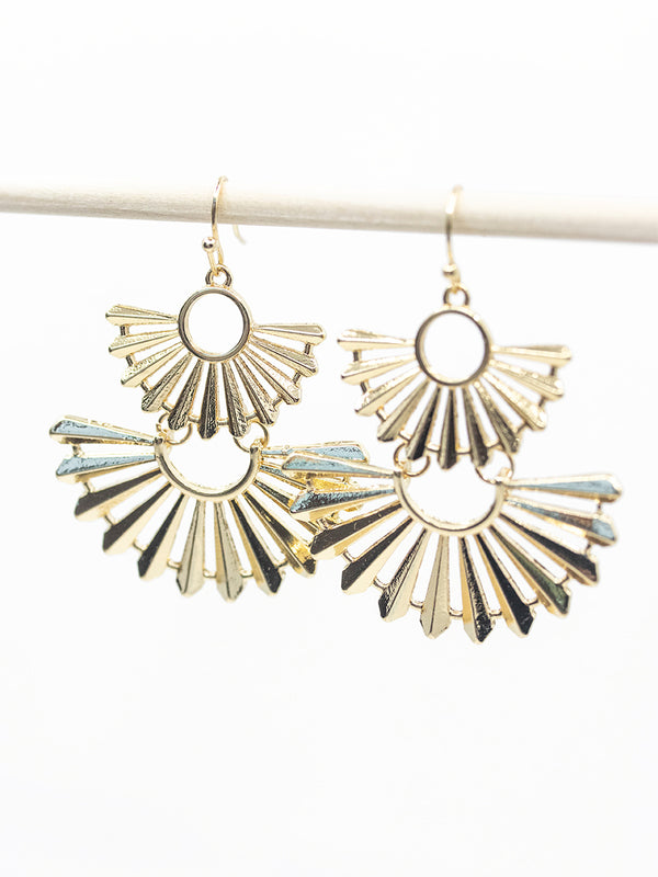 Drop Fan Earring