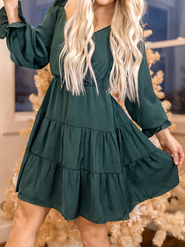 Balsam Ruffle Dress