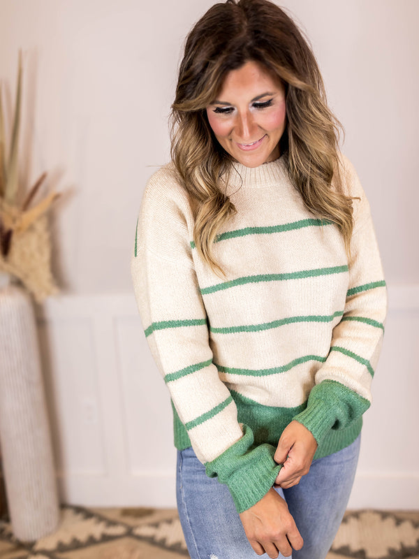 Sofie Striped Sweater