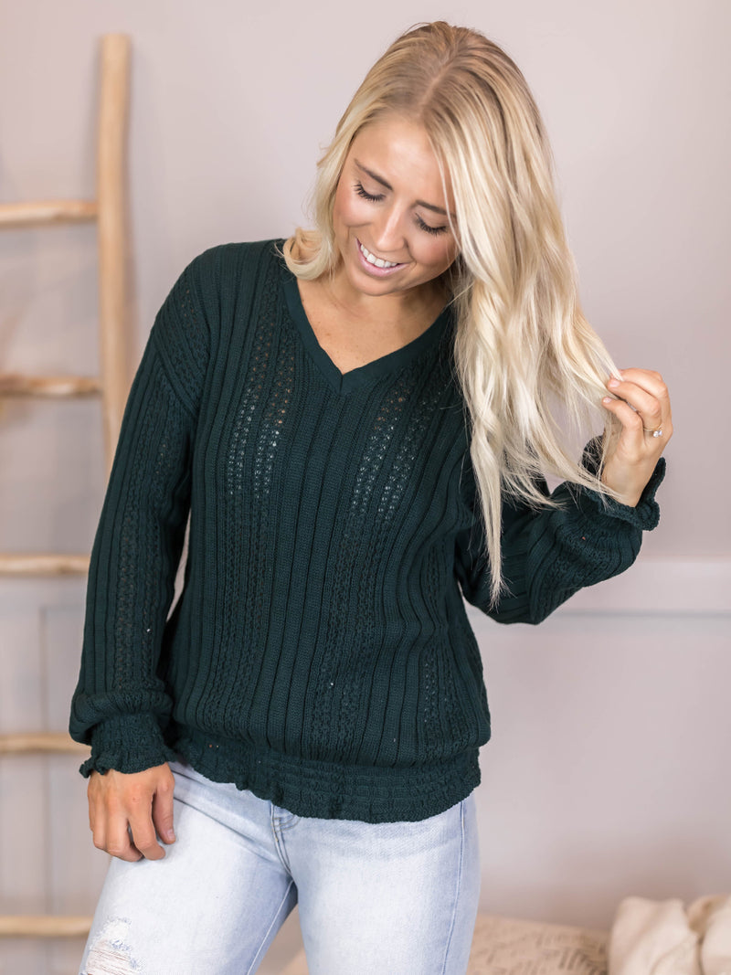 Brighton Loose Knit Sweater