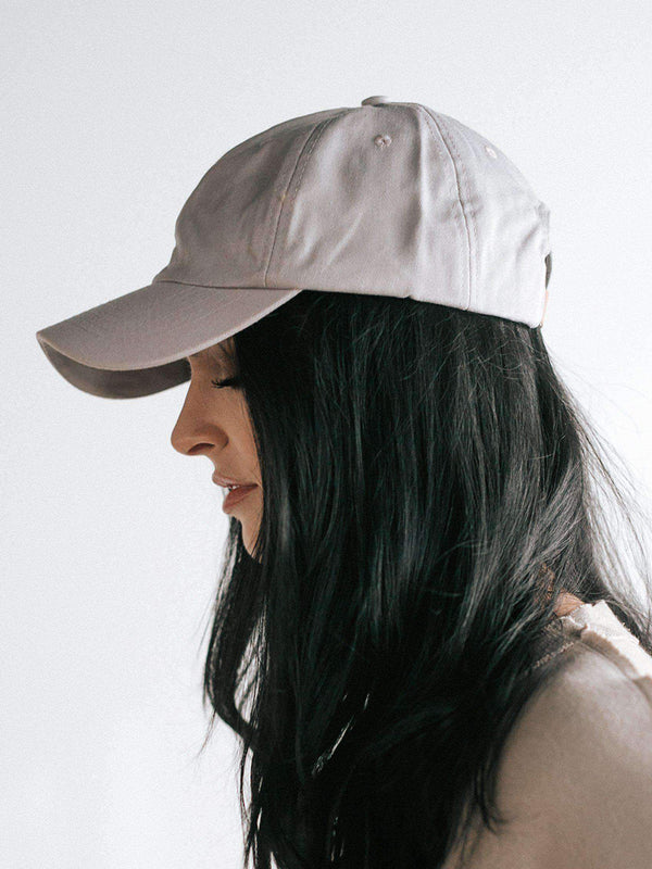 Laci Ballcap - Light Grey
