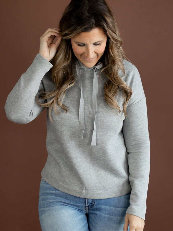 Meg Heather Grey Hoodie