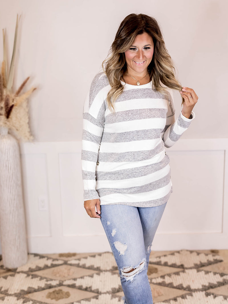 Vanna Striped Top