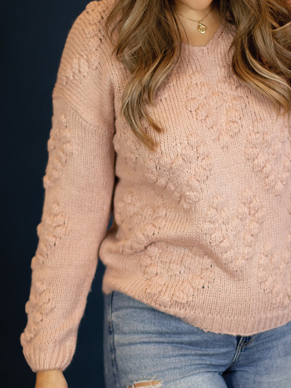 Blushing Heart Sweater