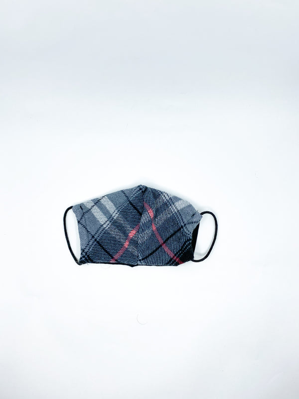 Kids Plaid Mask
