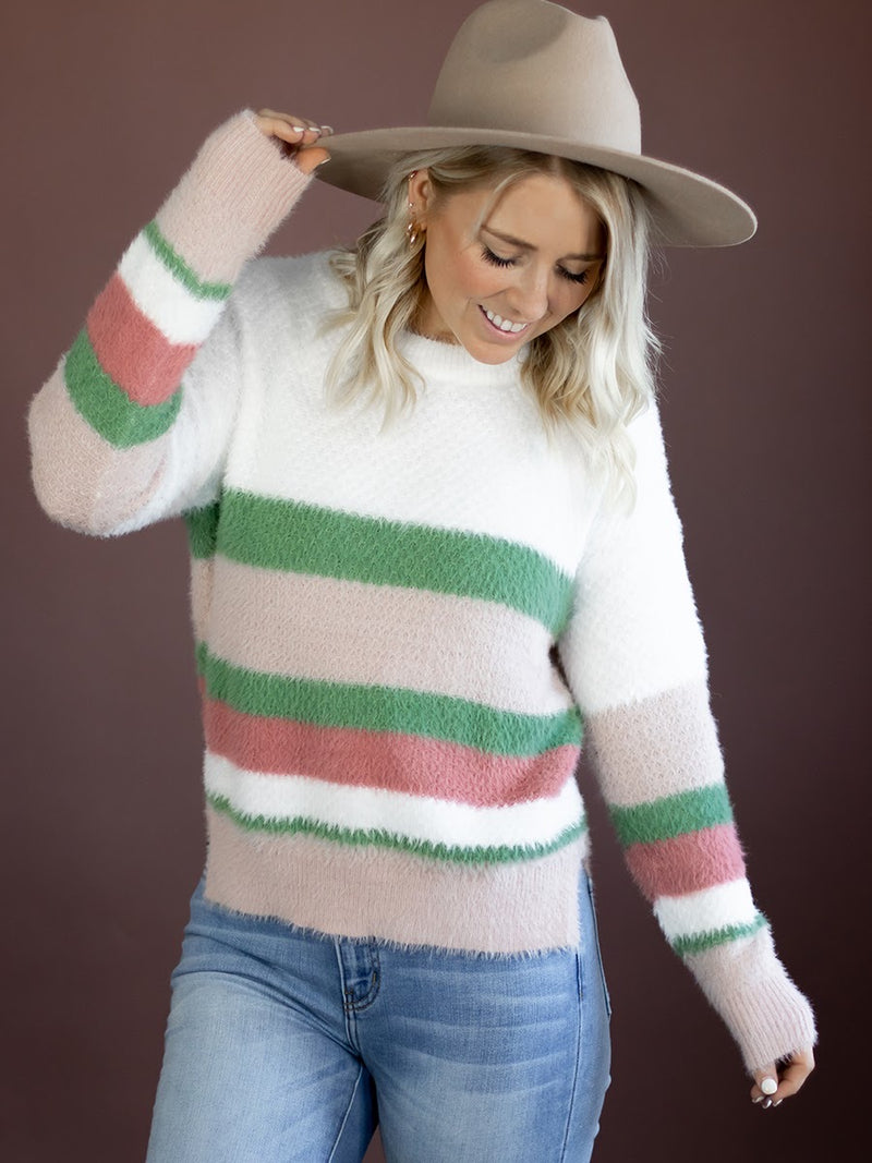 Nellie Fuzzy Sweater