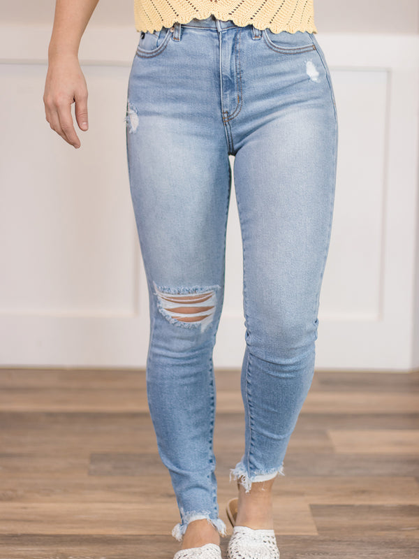 Matilda High Rise Ankle Skinny