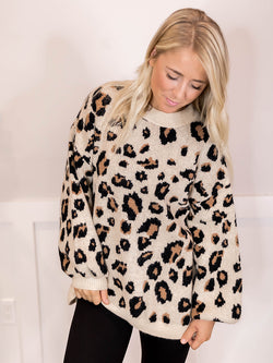 Ruthie Leopard Sweater