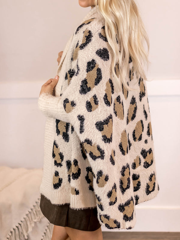 Ashley Leopard Cardi