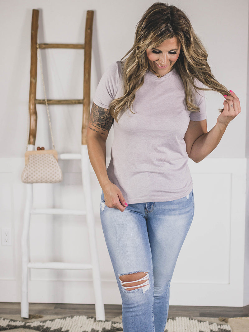 Everyday Soft Lilac Tee