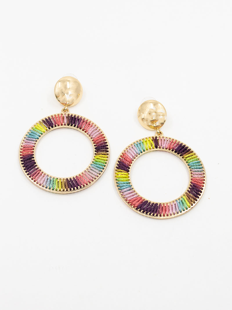 MultiColor Threaded Hoops