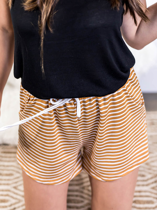 Mia Stripe Shorts