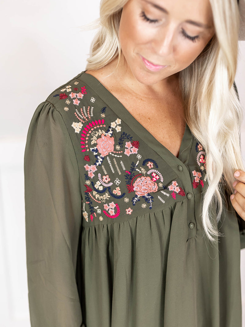 Eden Embroidered Blouse