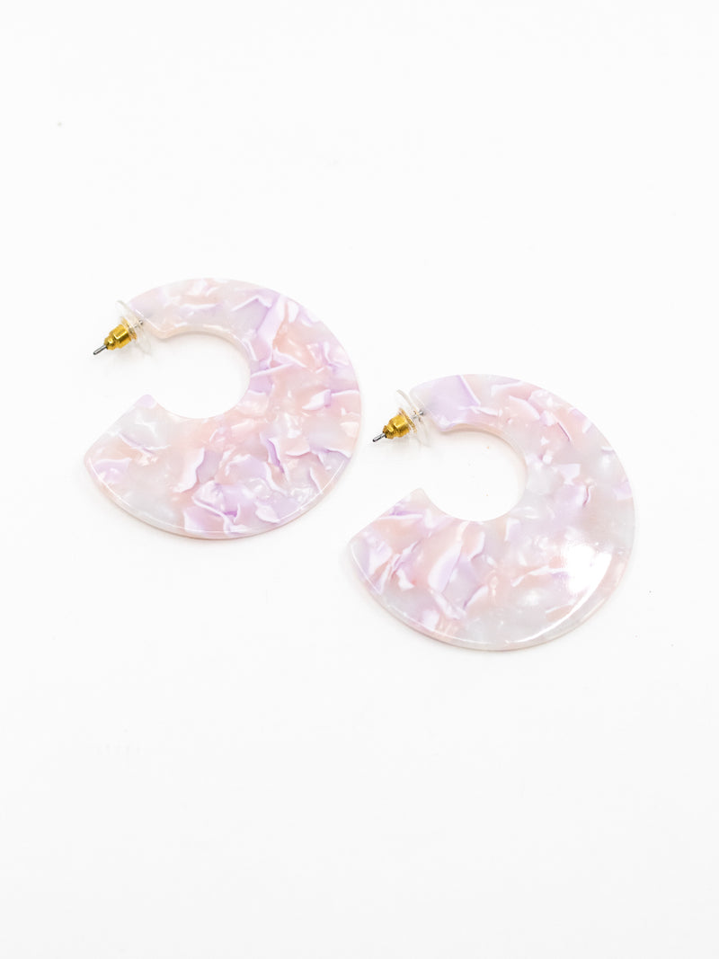 Resin Pastel Earrings